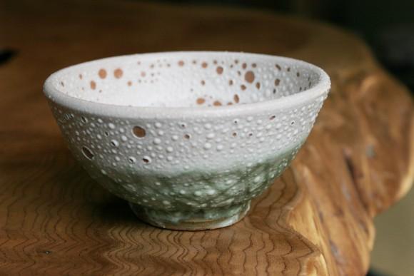オリジナル色の茶碗