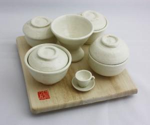 陶器のお食い初めセット